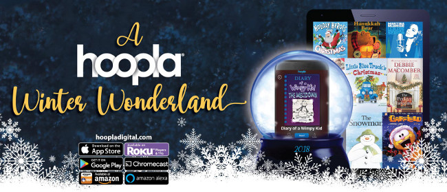 Tis the Season to be reading for free with hoopladigital and your library card