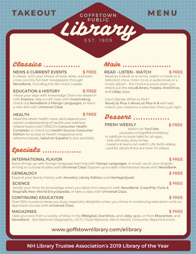gpl takeout menu 2020