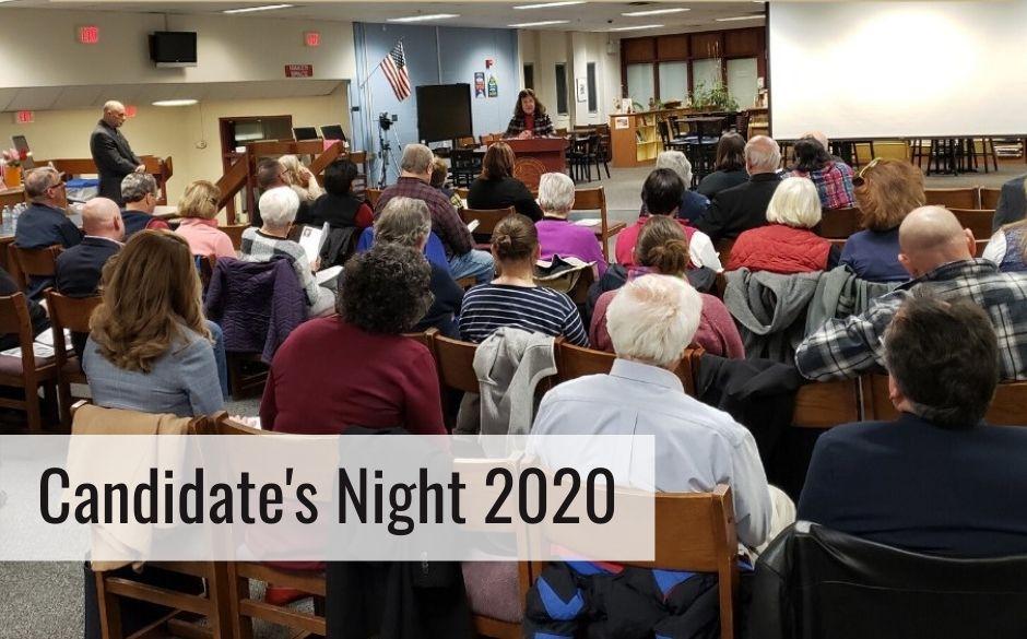 Candidate's Night 2020 at Goffstown High School