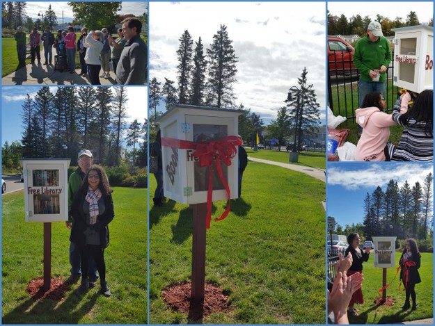 October 2015 Little Free Library Dedication