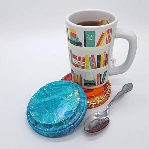 Acrylic Pour Coasters