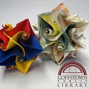 Origami Curler Ball