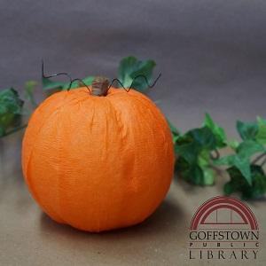 Styrofoam Pumpkins