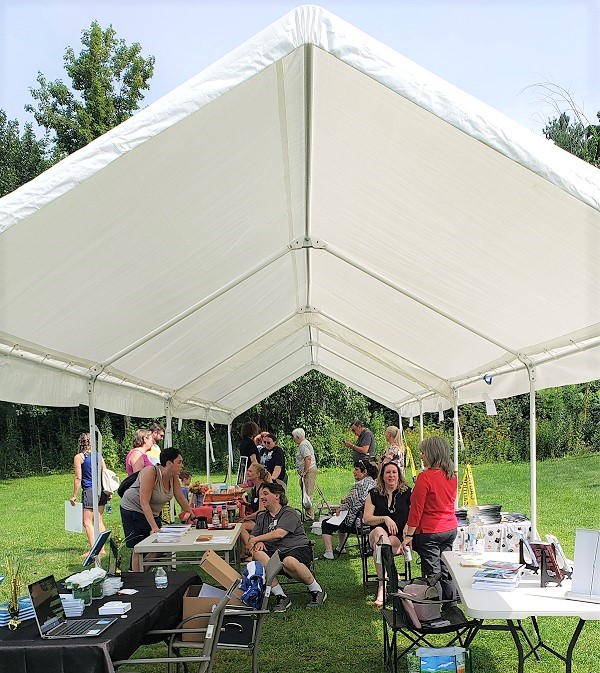 2021 August Author Fair on Lawn